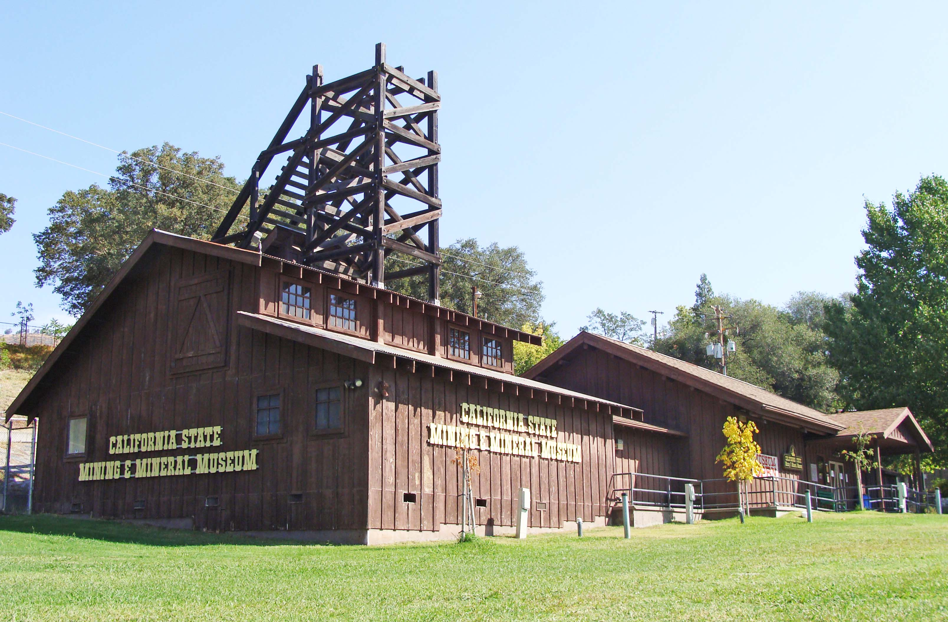 ca mining and mineral exhibit